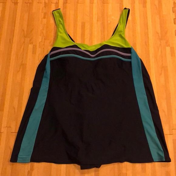 45bebc7a24436 Delta Burke Other - Delta Burke Swimwear One Piece Swimsuit Plus Size